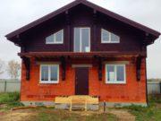 Дом из клееного бруса (сосна)