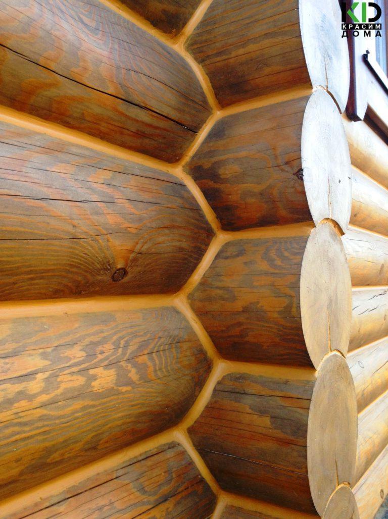 Отрада (Репрёв, технология теплого деревянного дома фраппе